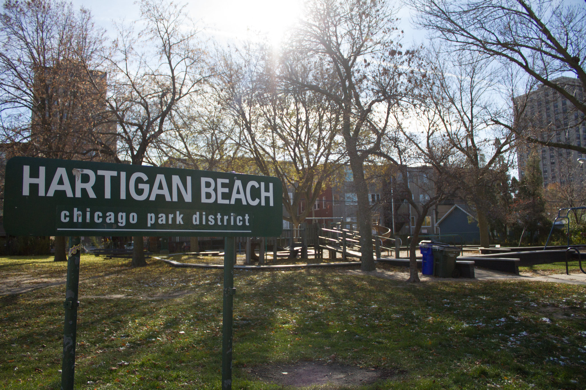 Hartigan Beach