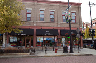 Morgan's Bar & Grill on Maxwell St