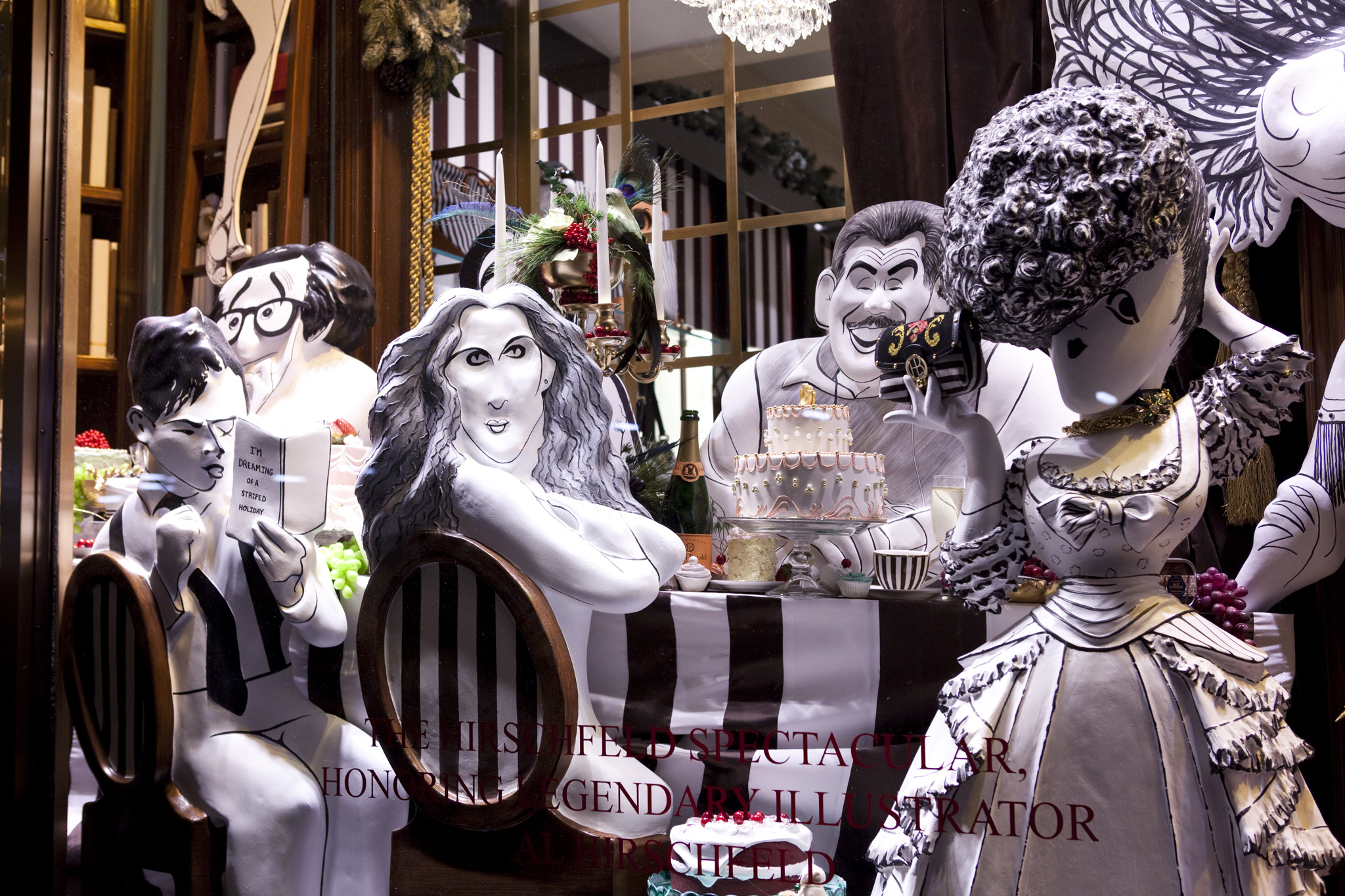 Henri Bendel holiday windows 2013