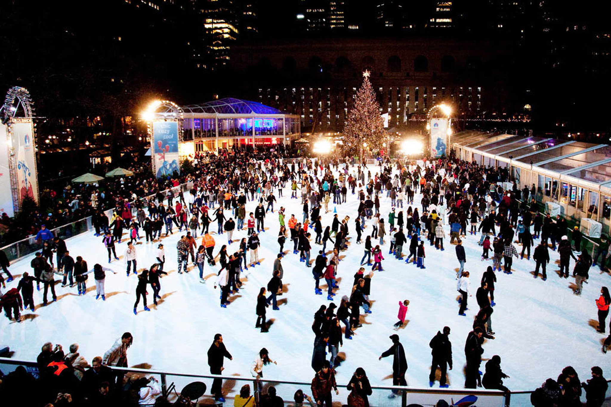 The Winter Village at Bryant Park