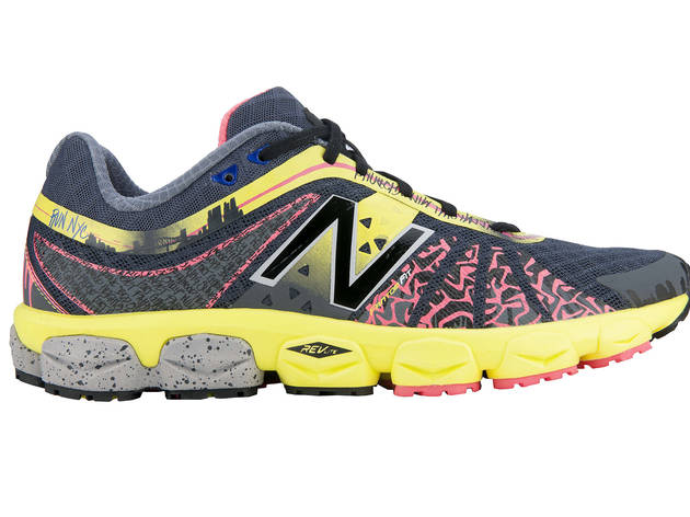 New Balance limited-edition NYC 890v4 sneakers, $120, at New Balance Experience Store, 150 Fifth Ave at 20th St (212-727-2520, newbalance.com)