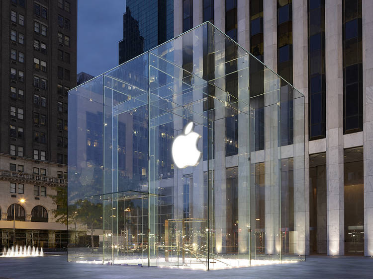 5th Ave, Chelsea, and SoHo Apple stores