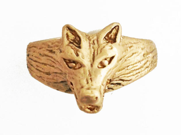 Species by the Thousands wolf ring, $55, at Strolby