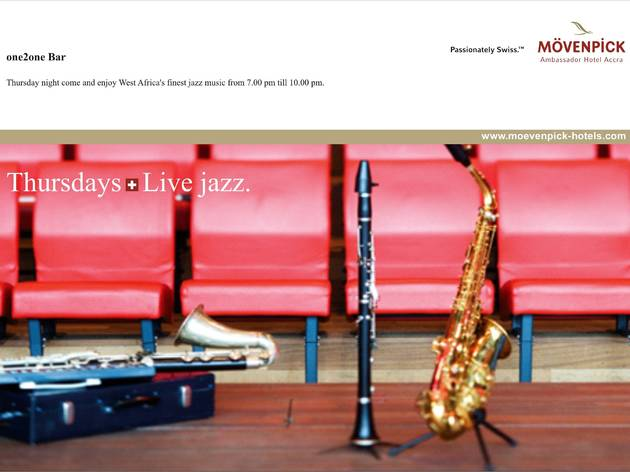 Jazz night at the Movenpick