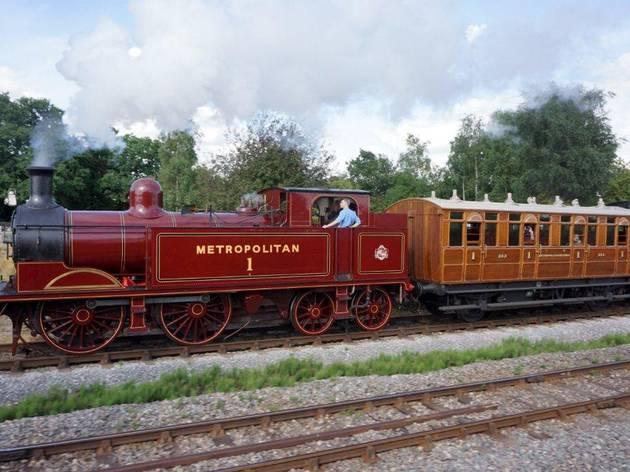 London Transport Museum Heritage Steam Rides