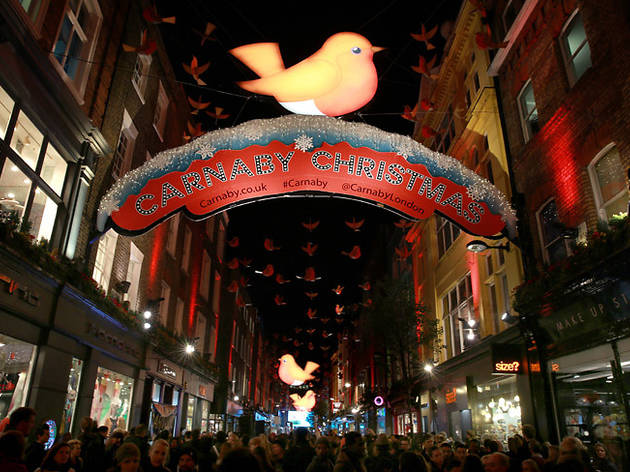 Carnaby Christmas 2013: The Year of the Robin