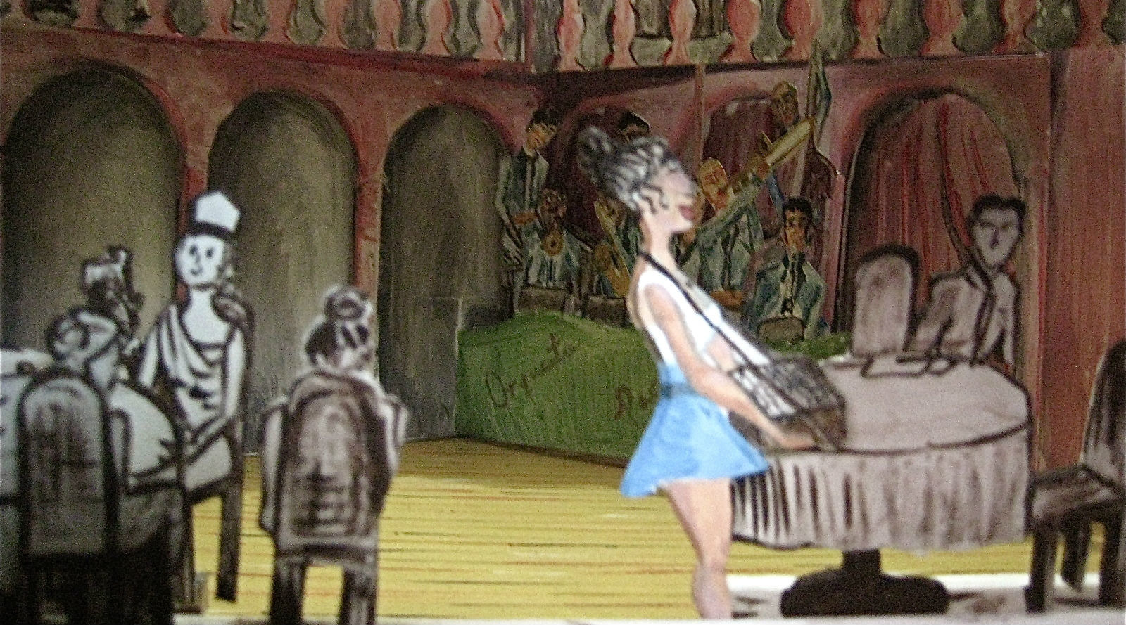 Teatro: Teatroscopio de banqueta
