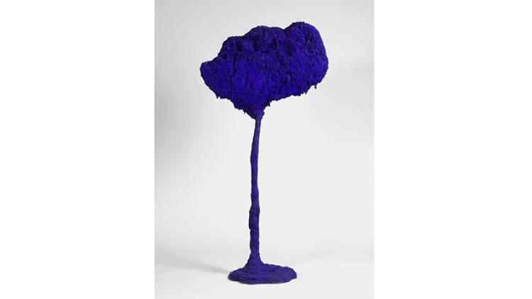 Yves Klein, 'SE 71, l'arbre, grande éponge bleue', 1962