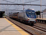 The Amtrak train, soon to be replaced by Japan's high-speed alternative?