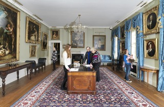 (The newly refurbished Breakfast Room at Kenwood House. © ENGLISH HERITAGE / CHARLES HOSEA)
