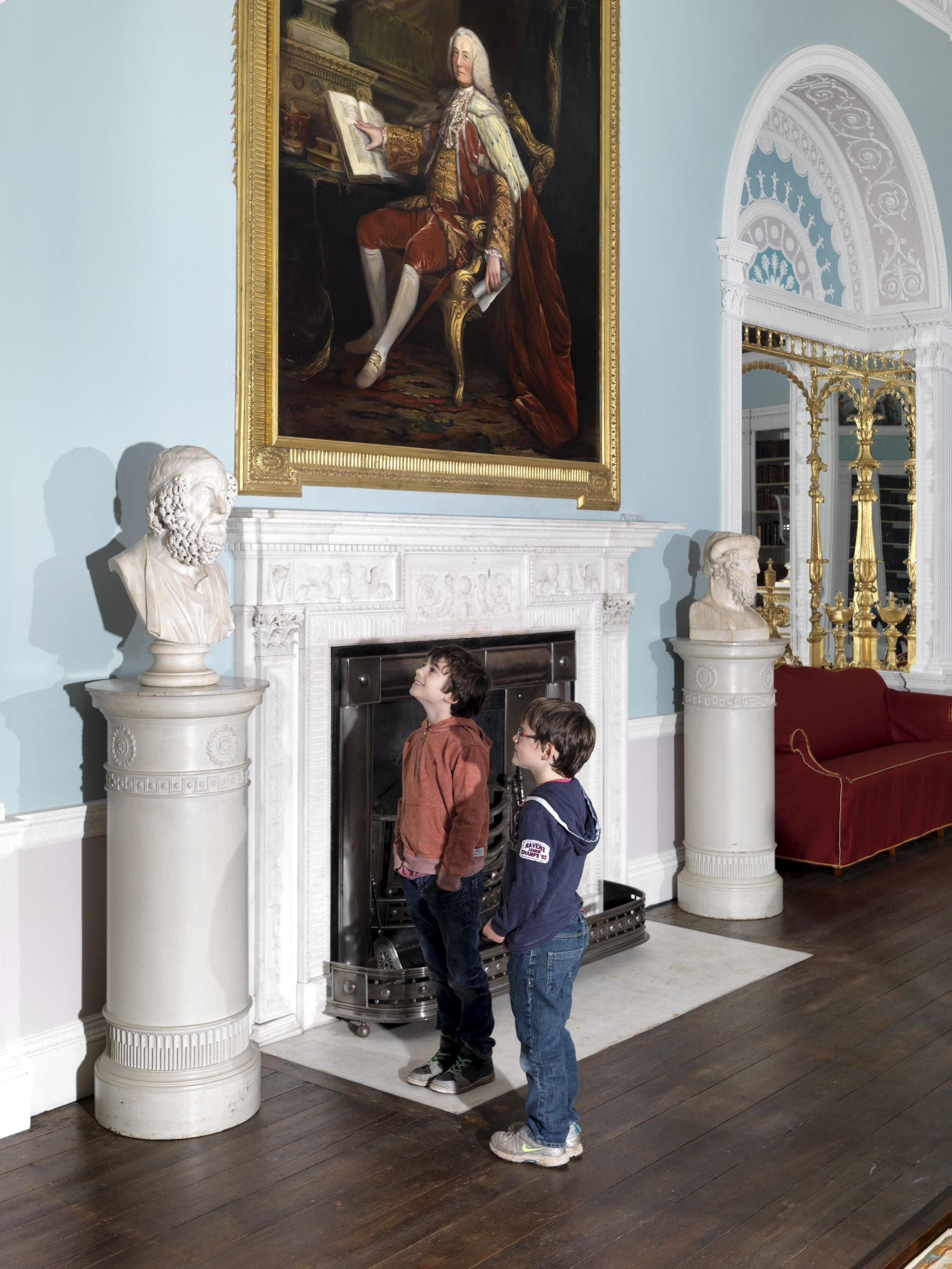 Admire the 'Great Room' at Kenwood House