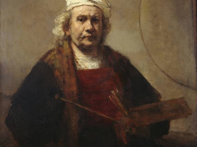 ('Portrait of the Artist' by Rembrandt Van Rijn, c1665. © ENGLISH HERITAGE)