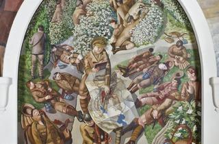 Stanley Spencer ('Map Reading')