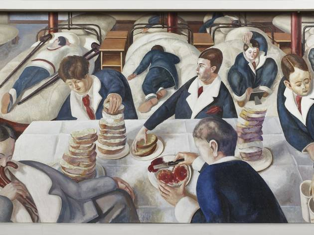Stanley Spencer ('Tea in the Hospital Ward')