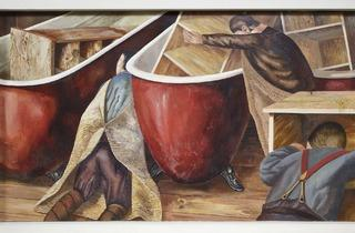 Stanley Spencer ('Washing Lockers')