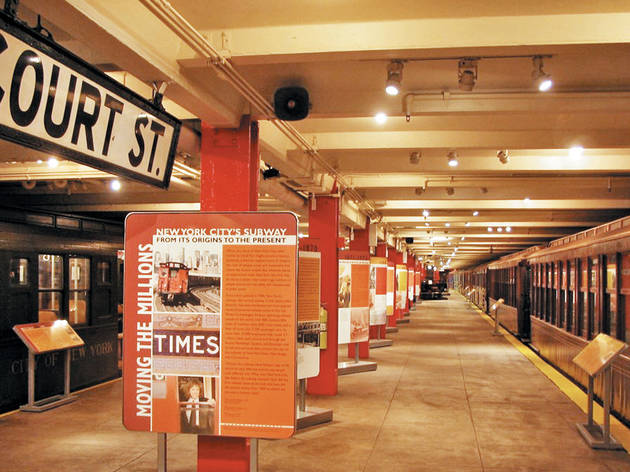 Best on a budget: New York Transit Museum