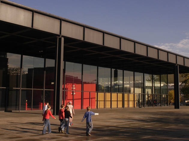 Neue Nationalgalerie, Sights, Attractions, Berlin