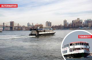 (Photographs: Courtesy Circle Line Sightseeing Cruises; Jenny Evans)