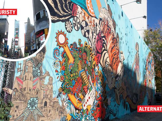 (Bowery Graffiti Wall photograph: Lauren Spinelli)