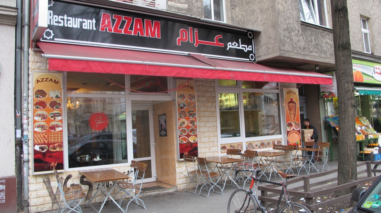 Azzam restaurant in Berlin