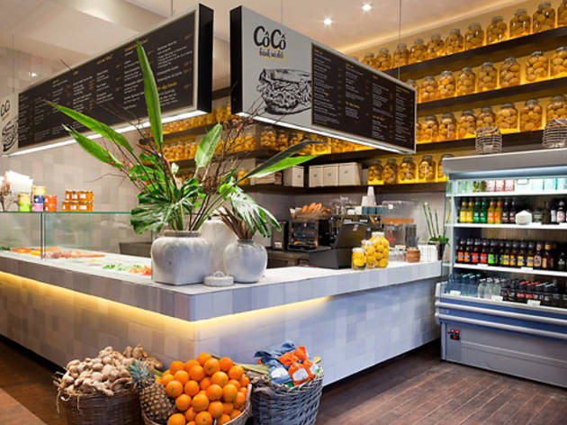 CôCô restaurant in Berlin