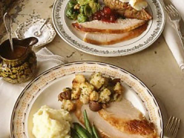 DosTrece Thanksgiving dinner