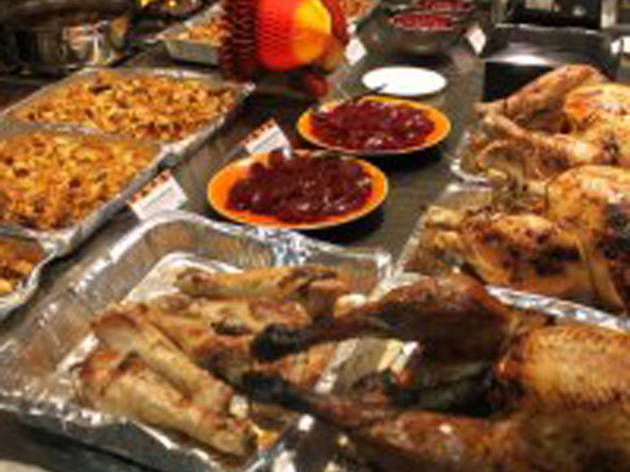 Delishop Thanksgiving dinner