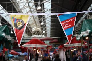 Independent Label Market, Spitalfields