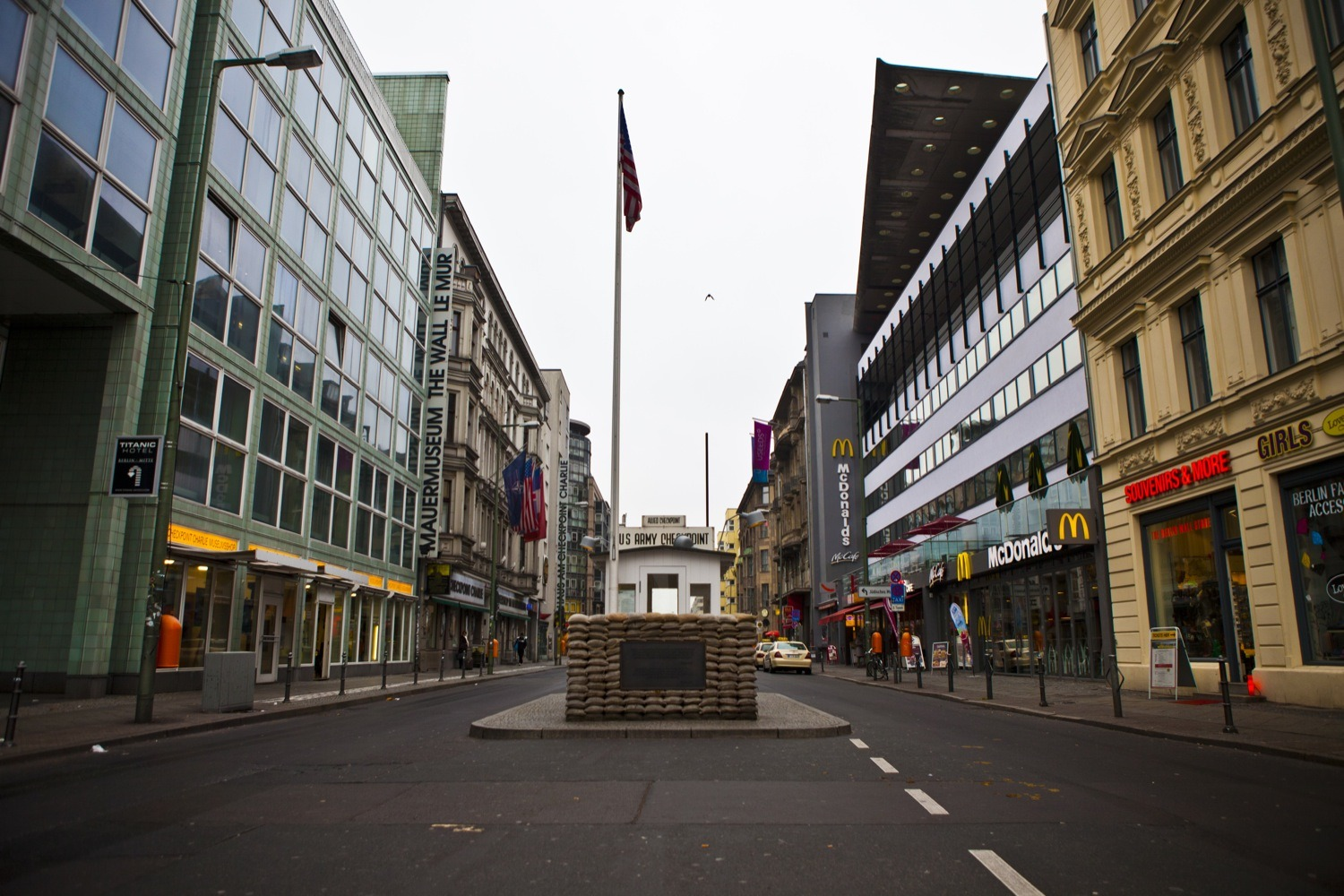 Berlin Wall itinerary