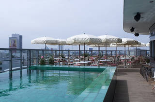 Soho House Berlin, hotel pool