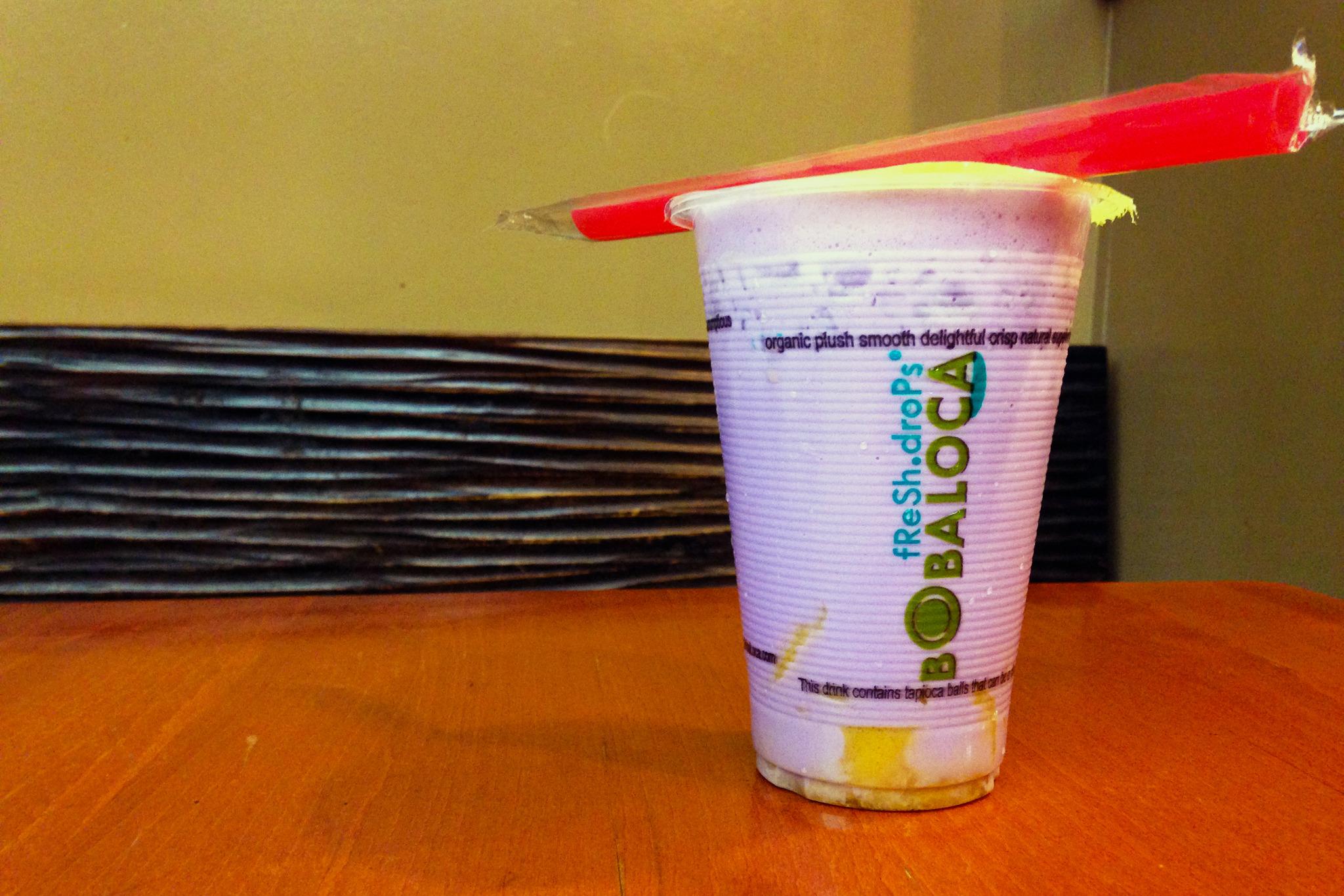 Taro Milk Tea with Pudding