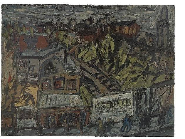 "Leon Kossoff, ""London Landscapes"""