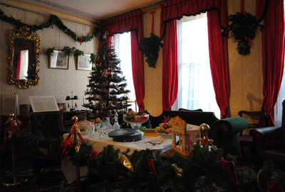 Charles Dickens Museum at Christmas