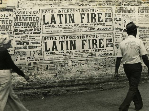 (Ever Astudillo, sans titre, série 'Latin Fire', 1975-1978 © Ever Astudillo. Collection privée, courtesy Toluca Fine Art, Paris)