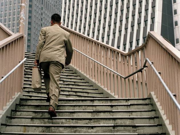 Chris Steele-Perkins ('Footbridge in Shinjuku')