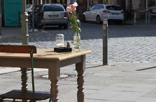 Neukölln café, Berlin