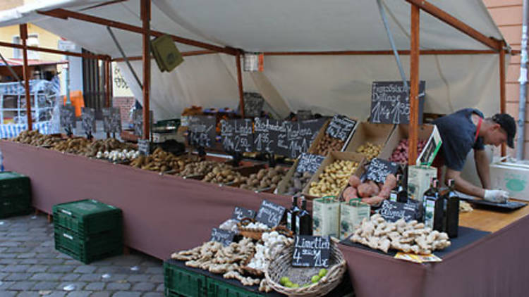 Neukölln food market, Berlin