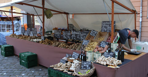 Neukölln food market, Berlin