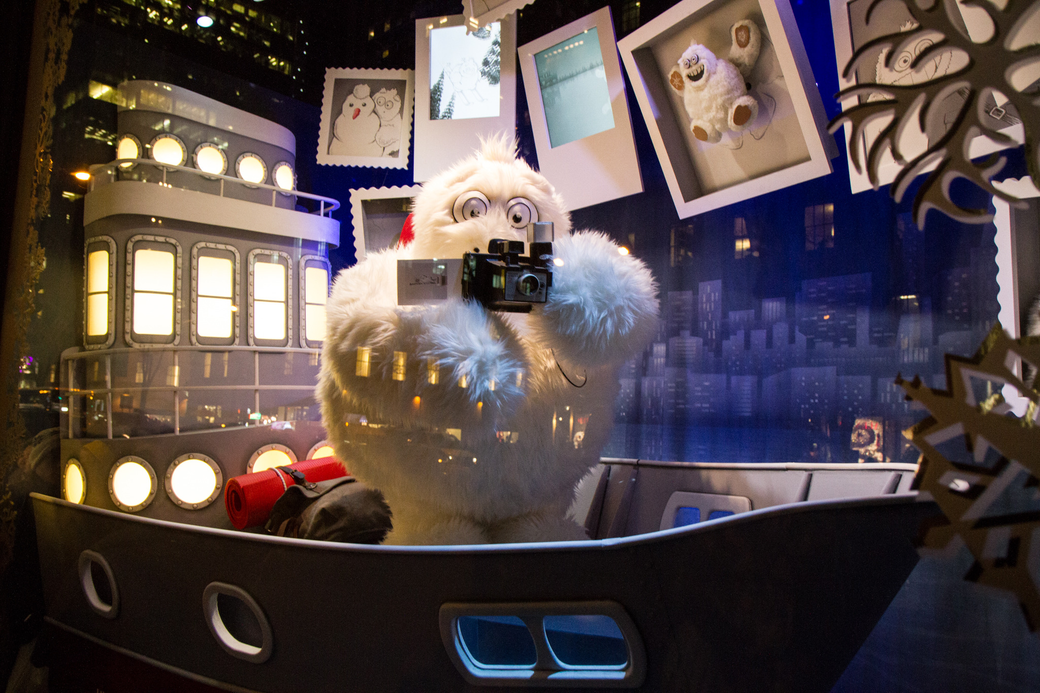 Holiday windows in New York City
