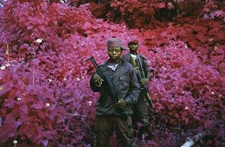 Richard Mosse ('Man-Size, North Kivu, eastern Congo', 2011)