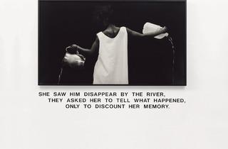 Lorna Simpson ('Waterbearer', 1986)