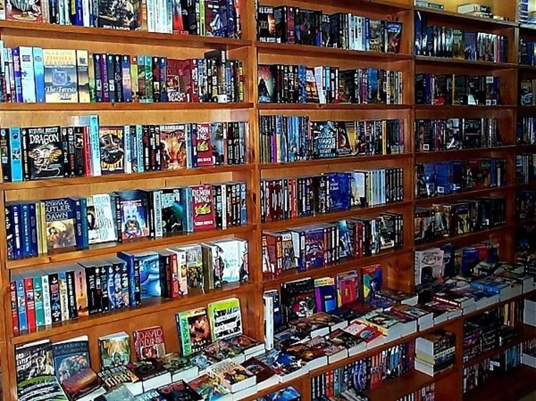 Ser un friqui de la ciencia ficción en la librería Gigamesh