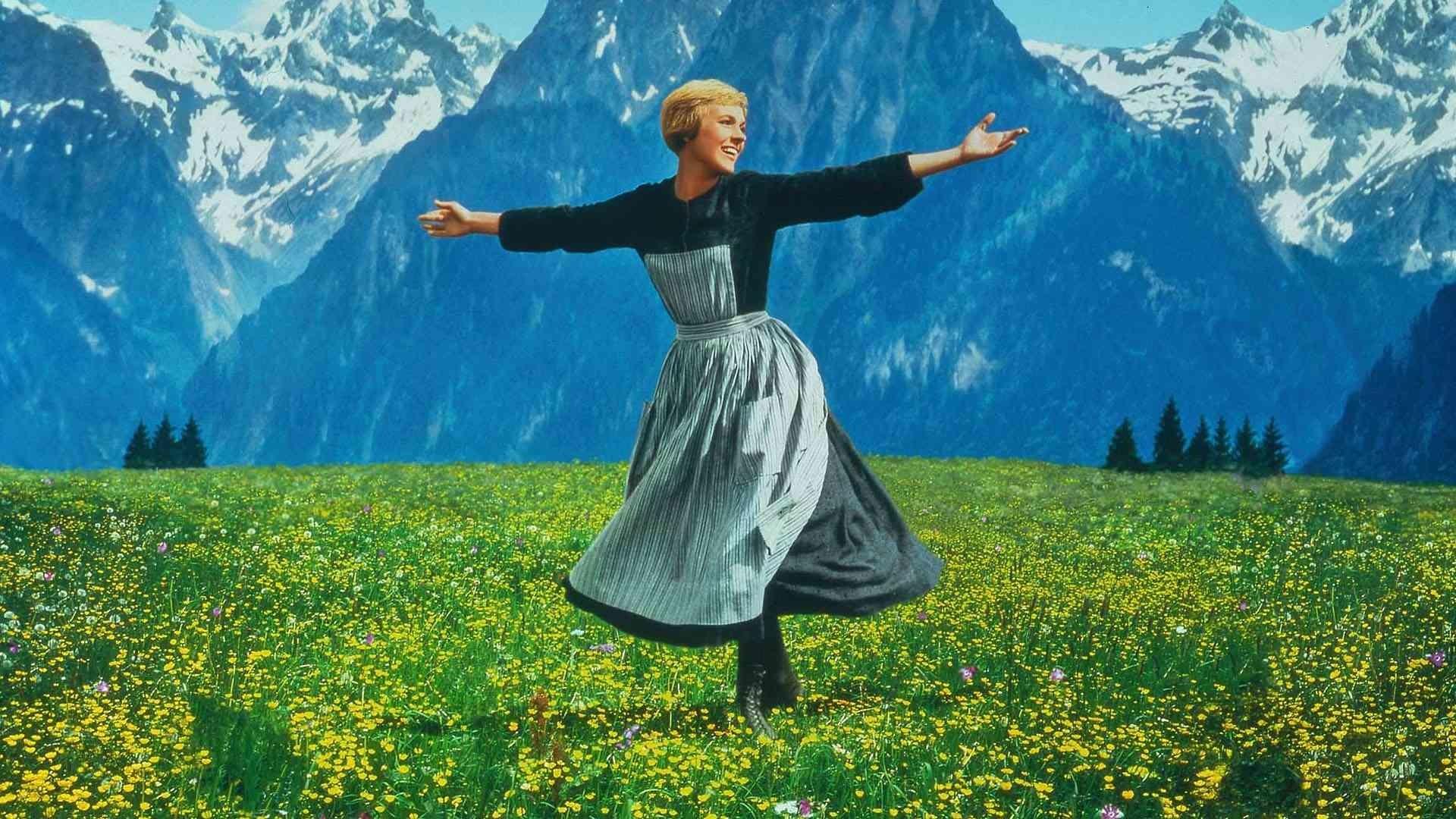 Julie Andrews en Sonrisas y lágrimas