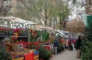 Feria de Navidad en la Sagrada Família