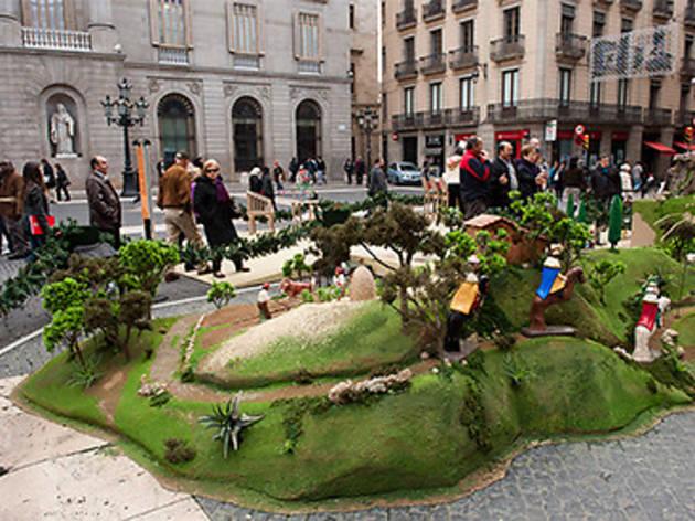 Pessebre de la Plaça de Sant Jaume