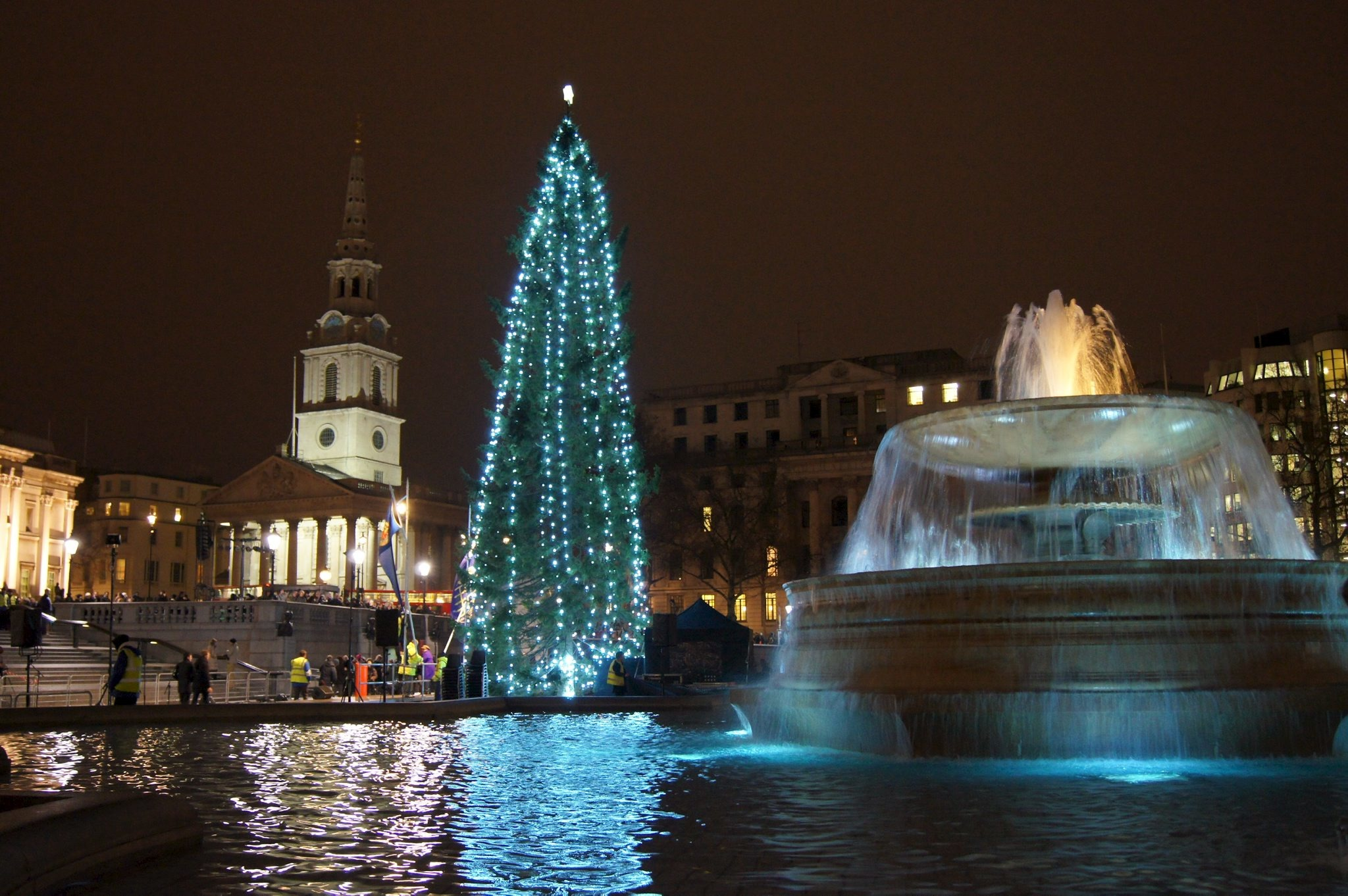 Christmas in Trafalgar Square | Things to do in London