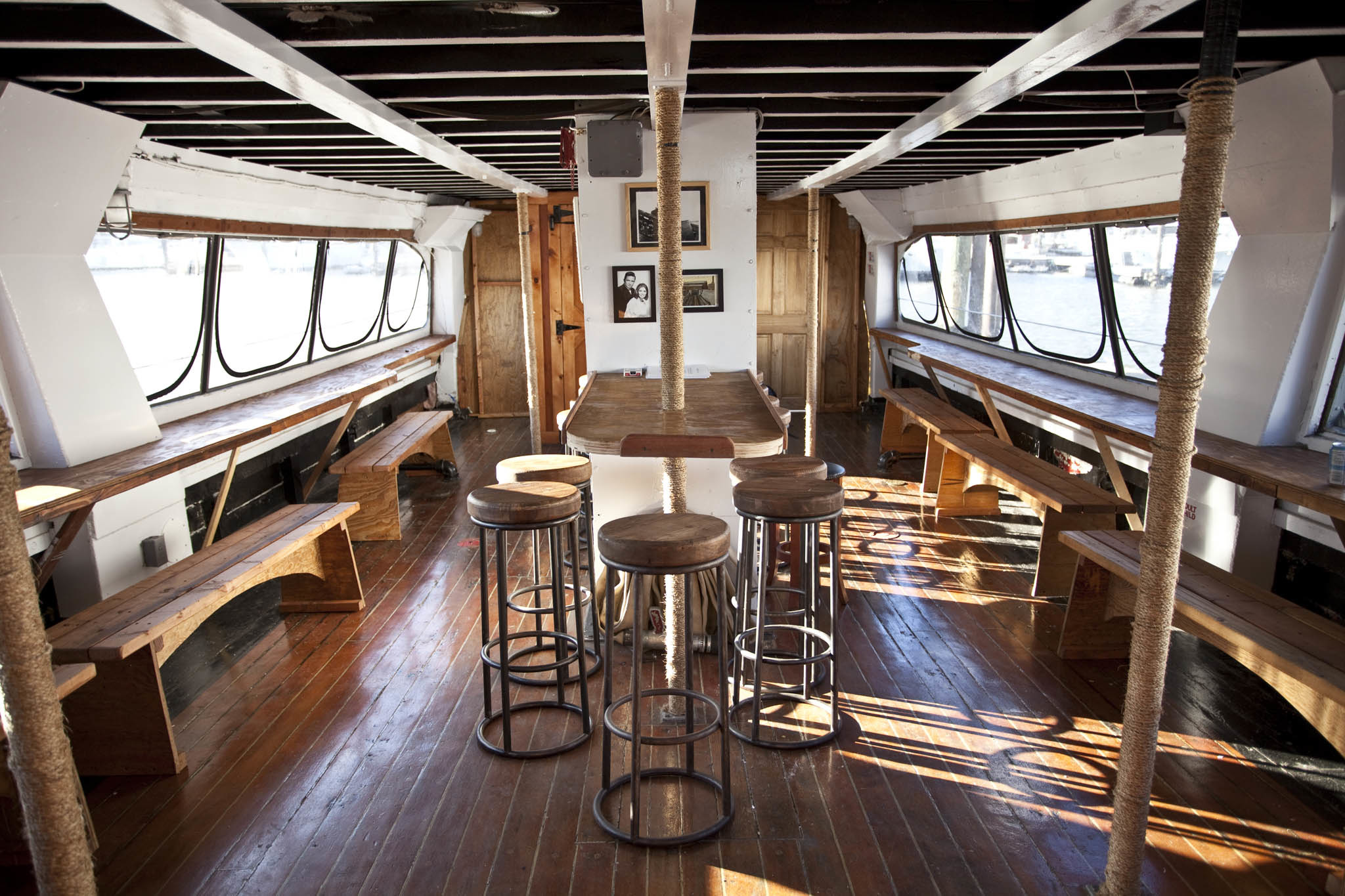 All aboard NYC's best boat bars