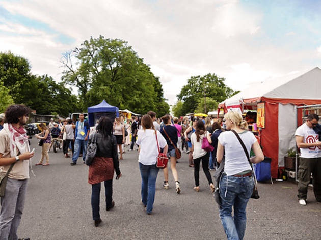 Fleamarket at Mauer Park, shopping and markets, things to do, parks