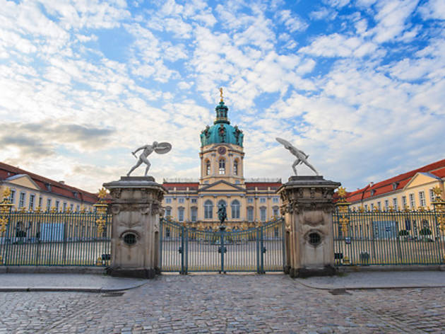 Discover an older Berlin at Charlottenburg gardens