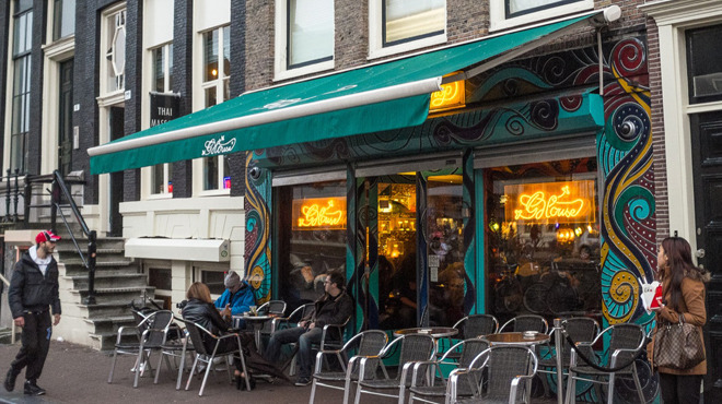 Best coffeeshops in amsterdam where coffee and cannabis for Amsterdam hotel centro